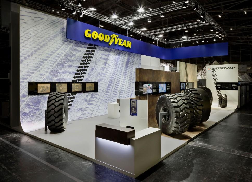 Sungard Exhibition Stand Year : Rs architekten goodyear dunlop